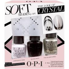 opi soft shades nail polish collection 2015 the look of crystal trio