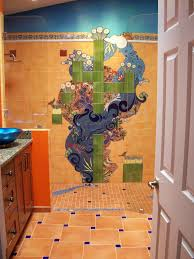 a perfect storm southwest style a commissioned handmade tile
