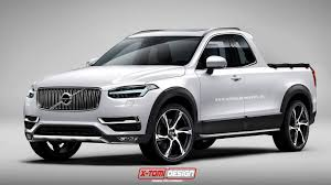 volvo truck models 2015 volvo xc90 rendered as pickup truck from your nightmares