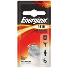 type of battery for lexus key fob energizer 1616 1pk lithium battery ecr1616bp the home depot