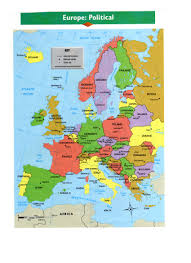 Map Of Western Europe by Maps