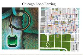 Grant Park Chicago Map by The Secret A Treasure Hunt Image 05