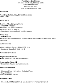 Simple Resume Examples For Students by College Student Resume Templates Academic Resume Inspiredshares