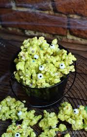 monster mash halloween monster mash popcorn cooking with curls