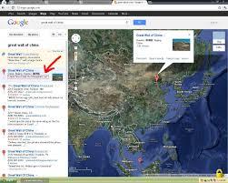 China Google Maps by Great Wall Of China Imgur