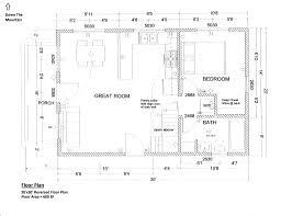 floorplan 20x30 1 5 story cabin interior details pinterest