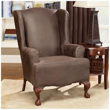 cute wing chair slipcover jen joes design wing chair slipcover back to wing chair slipcover