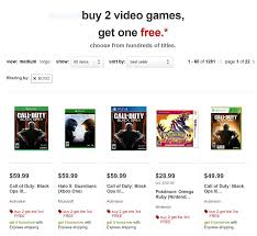 target ps3 games black friday target buy 2 get 1 free deal offers free xbox u0026 ps4 games