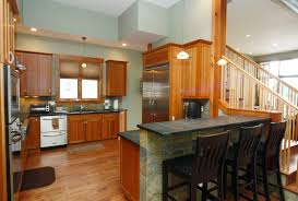 One Level House Plans With Basement Kitchen Floor Design House S Open With Basement View Images