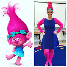 halloween costumes for teachers poppy from trolls for the