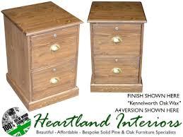 2 Drawer Oak Wood File Cabinet by Filing Cabinet Amp Solid Pine Wooden Filing Cabinet 4 Drawer