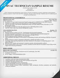 Phlebotomist Resume Sample No Experience by Hvac Resume Template Inspirational Hvac Technician Resume 15