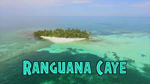 private island ranguana caye belize youtube