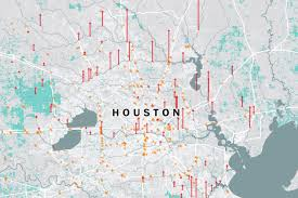 Virginia On Map by Houston Flooding Map The Effect Of Harvey On Texas And Louisiana