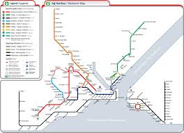 Metro Lines Map by Getting Around In Istanbul By Metro Tram And Funicular