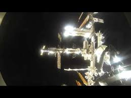 iss expedition 43 timelapse pov video of soyuz approach and