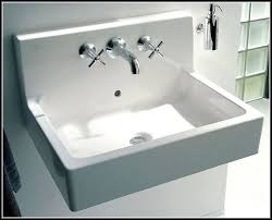 Bathroom Sink Wall Faucets by Duravit Wall Mount Bathroom Sink Sinks And Faucets Home Design