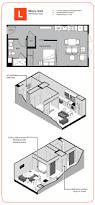 Micro Studio Plan The Micro Unit Ktgy Architects