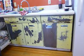 Retro Metal Kitchen Cabinets by Downtown Colorado Springs Craftsman Bungalow Oinkety