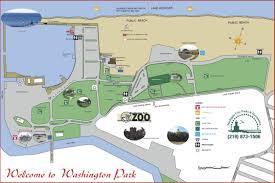 Map Of Washington Cities by Washington Park Map Franklin St Michigan City U2022 Mappery