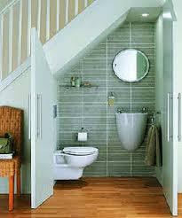 Small Bathroom Wall Tile Ideas Bathroom Creative Tiny Bathroom Under Stairs As Space Saving