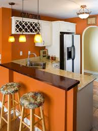 kitchen style awesome orange traditional tropical cool kitchen