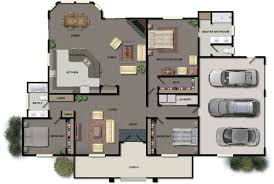 Small 3 Bedroom House Floor Plans by 10 3 Bedroom Home Floor Plans Small House Plan Small 3 Bedroom