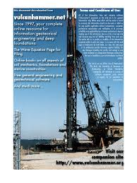 drillef shaft manual fhwa nhi 10 016 geotechnical engineering