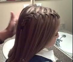 Waterfall French Braid   Cute Girls Hairstyles