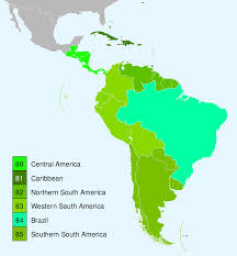 Map Of South America And Caribbean by Category Flora Of South America Wikipedia