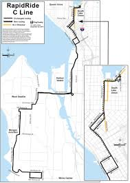 Metro Lines Map by Rapidride C U0026 D Extensions Programs U0026 Projects King County