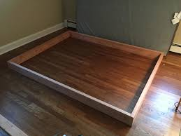 How To Build A Queen Platform Bed Frame by This Guy Made A Diy Floating Bed In 19 Simple Steps U2026 Wait Till You