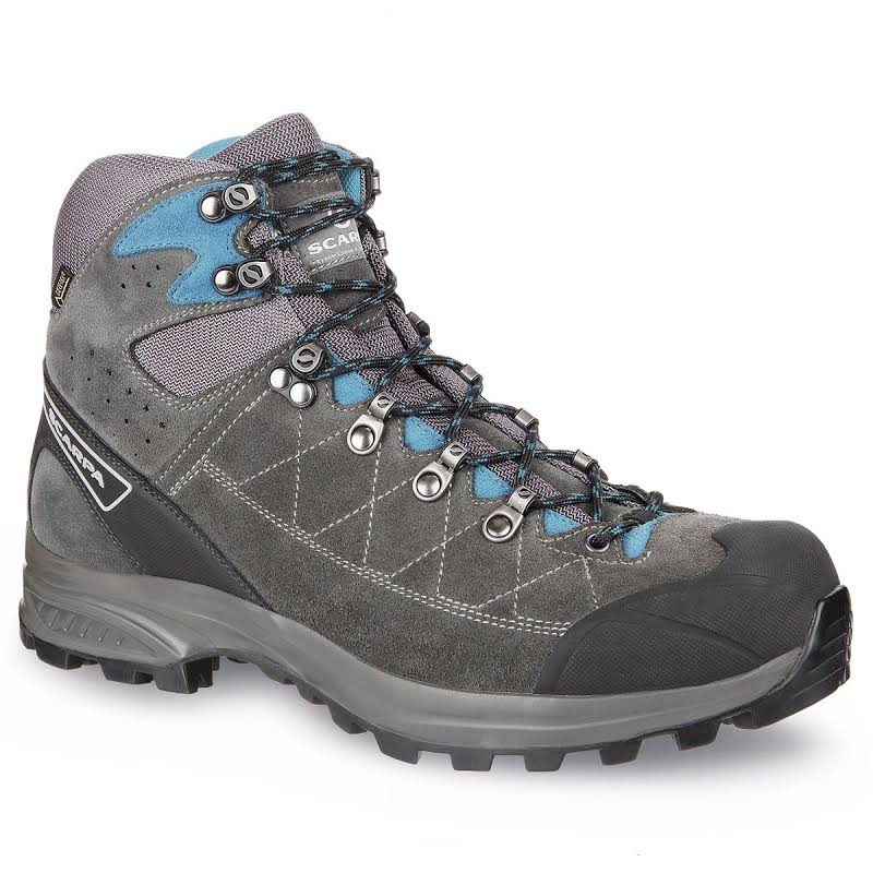 Scarpa Kailash Trek GTX Backpacking Boots Shark Grey/Lake Blue Wide 43 61056/200.3-SrkgryLkblu-43