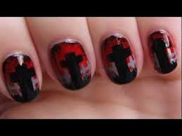 16 best nail art images on pinterest halloween nails zombie
