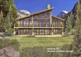 contemporary log house plans house plans