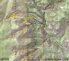Payson Arizona Map by Cold Spring Canyon Ruins U2022 Hiking U2022 Arizona U2022 Hikearizona Com