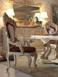French Dining Room Set Bisini Luxury Italian Style Dining Table French Royal Dining Room