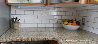 White Subway Tile Backsplash Ideas by Great White Subway Tile Backsplash On Kitchen With Kitchen