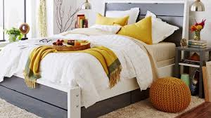how to build a platform bed with storage youtube