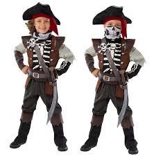 Kids Skeleton Halloween Costumes Pirate Costume Skeleton Child Halloween S Kids Boy Size 5 6 Ghost