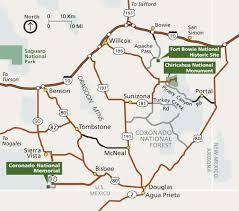 Southeast Map Maps Coronado National Memorial U S National Park Service