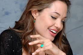 Angelina Jolie smile face walls