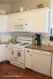 Kitchen Cabinet Paint Color Painted Kitchen Cabinets With White Appliances Kitchen Crafters
