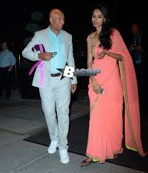 Kimora Lee Simmons And Husband Double Date With Russell Simmons     Kimora Lee Simmons and Russell Simmons spotted on a double date in NYC