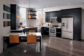 Orange And White Kitchen Ideas Kitchen Style Amazing Shaped Galley Kitchen Designs On With