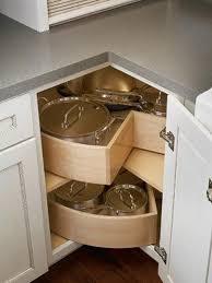 Kitchen Corner Cabinet Storage Ideas - Corner kitchen base cabinet