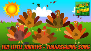 why was thanksgiving created five little turkeys thanksgiving songs for children animated