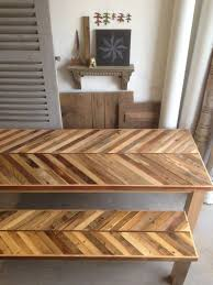 Best  Kitchen Table With Bench Ideas Only On Pinterest Dining - Barnwood kitchen table