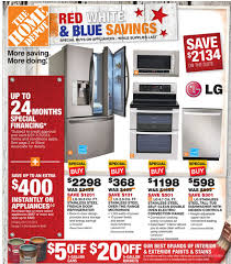 home depot black friday newspaper ad 2017 home depot ad deals for 7 4 7 10 red white u0026 blue savings