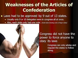 Articles of confederation weaknesses constitution medical